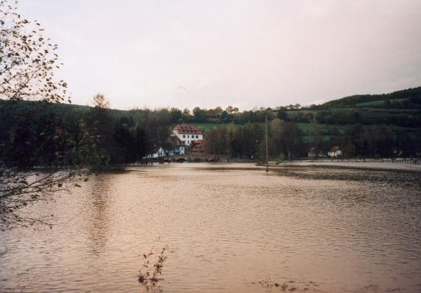 Hochwasser  in Altengronau